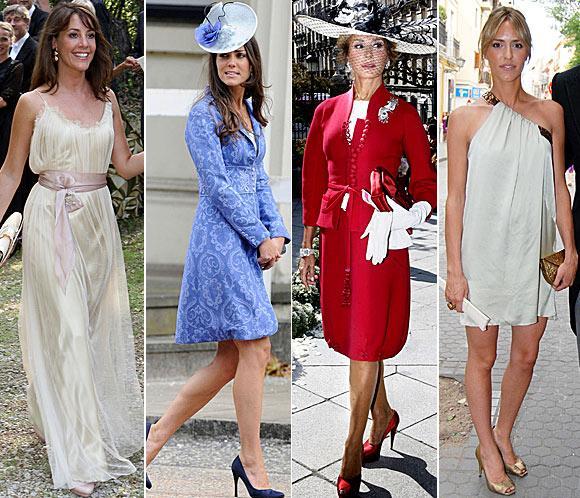 Vestidos invitadas bodas de famosos