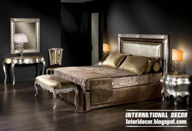 Luxury Classic Bedroom Furniture Design   Italian Bed Antique