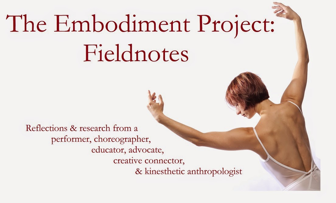 The Embodiment Project: Fieldnotes