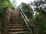 Les escales de la presa de Sau