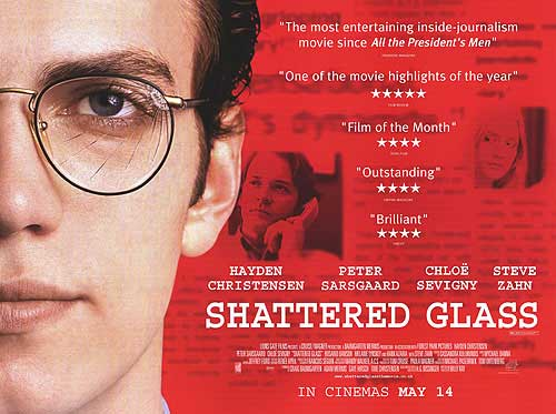 shattered glass essay