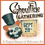 Collectible Halloween Art at Ghoultide Gathering
