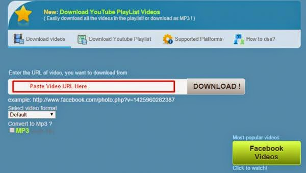 Download Facebook Videos