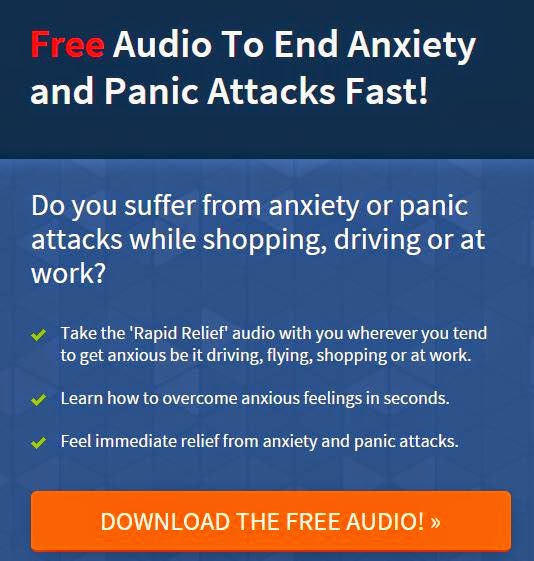 """Rapid Relief"" Stops Panic Attacks Fast While Shopping, Driving, At Work"