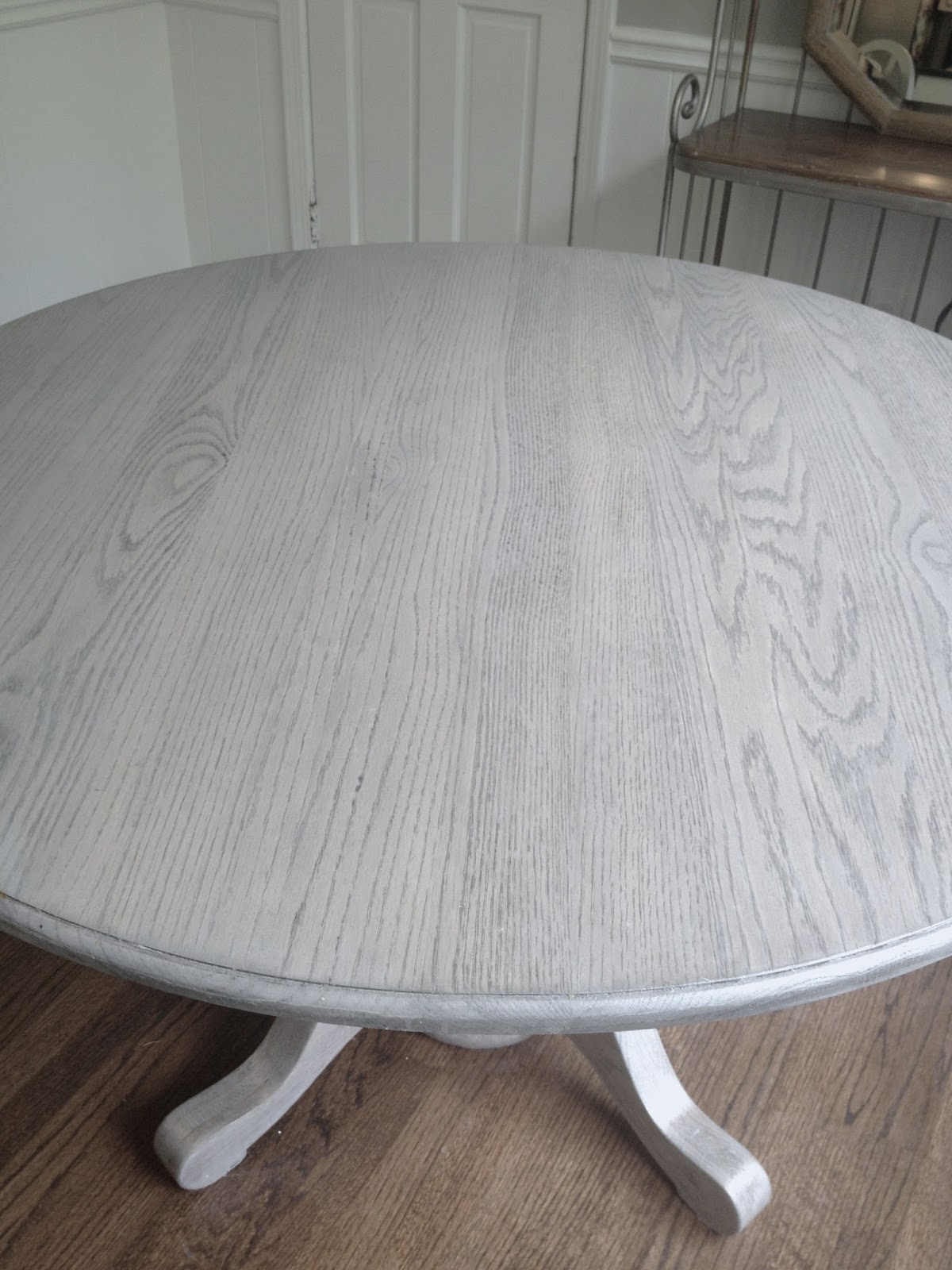 Long And Found Diy Kitchen Table Refresh