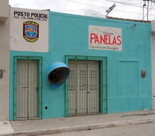 Cartório de Registro Civil no distrito de Cruzes foi roubado, o mesmo fica ao lado do posto policial.