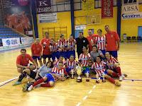 FÚTBOL SALA-Burela ganó la vuelta pero no fue suficiente para ganar la Supercopa