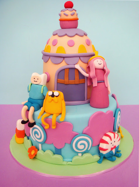 Cake Design Adventure Time : butter hearts sugar: Adventure Time Birthday Cake