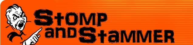 Stomp and Stammer logo