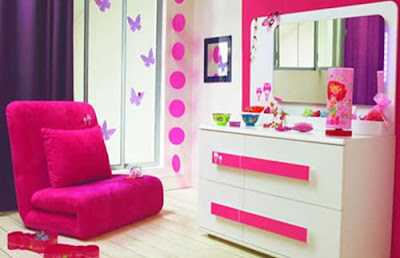 Girls Room Decorating