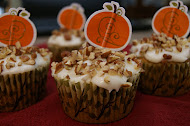 Pumpkin and Pecan Cupcakes
