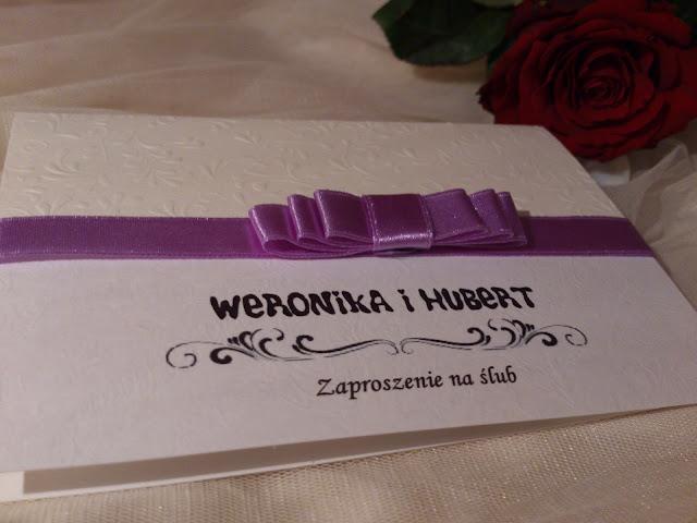 Zaproszenia eleganckie