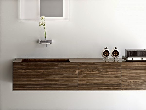 Diseño de baños italianos modernos : baños y muebles