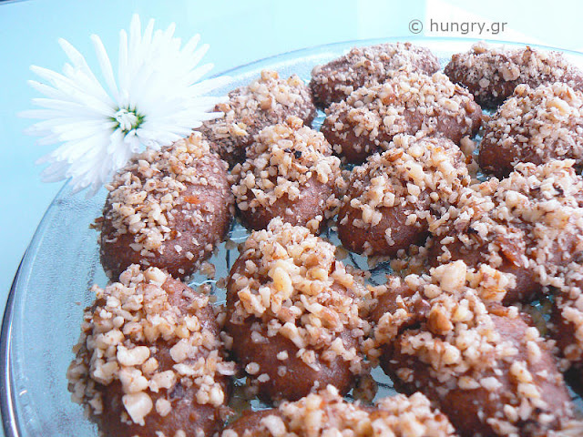 Melomakarona, Honey Cookies with Walnuts