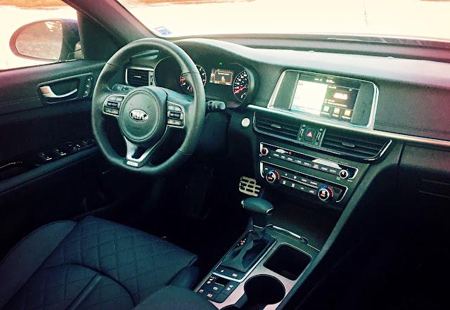 2016 Kia Optima SXL Turbo interior