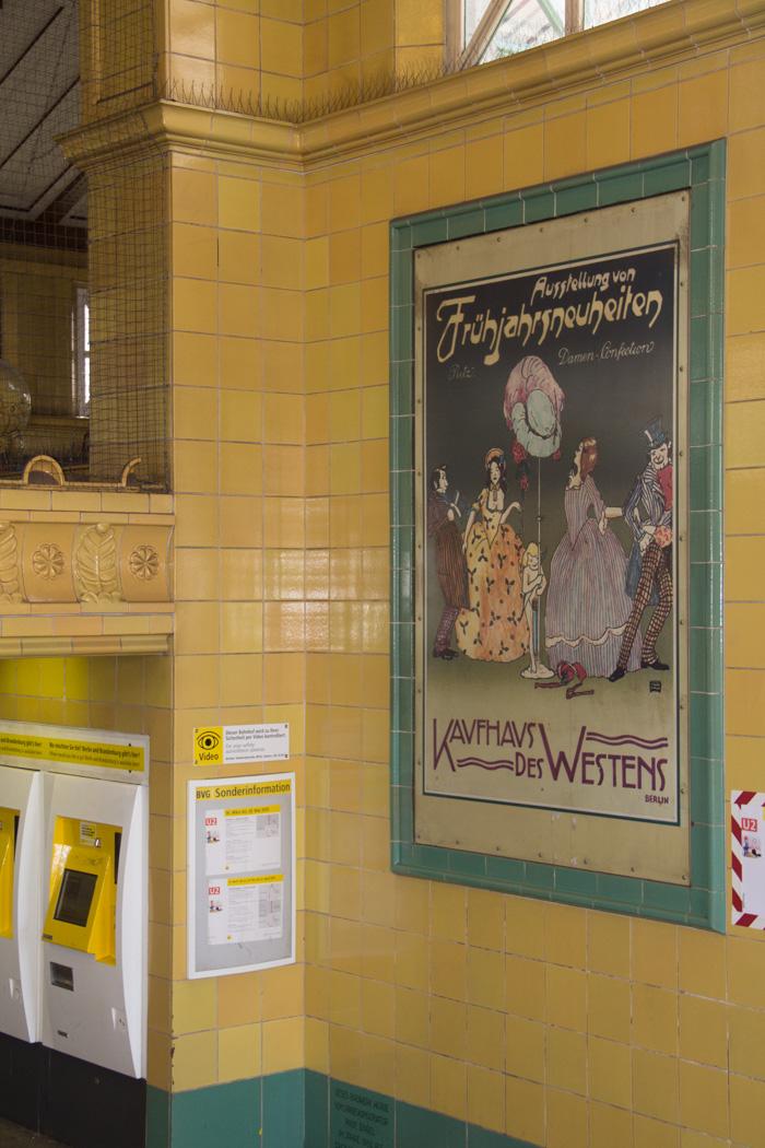 Nostalgische Werbung in Berlin