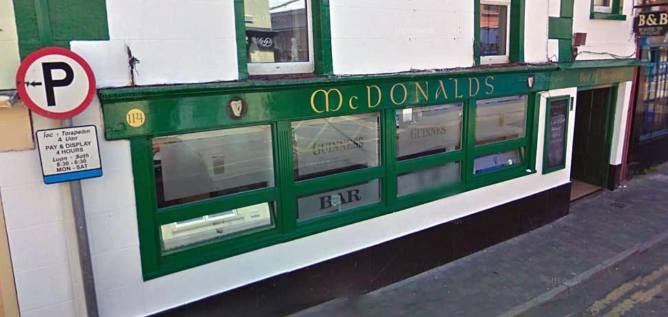 McDonald's Pub, Wexford
