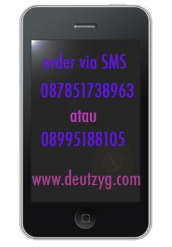 Order Via sms lebih cepat!