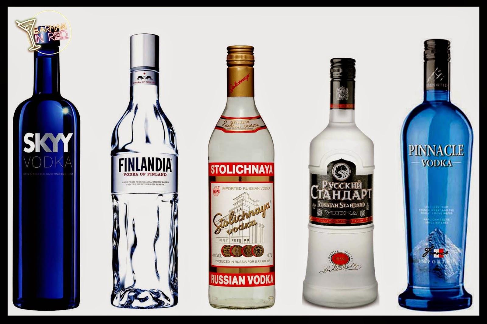 top 10 vodkas