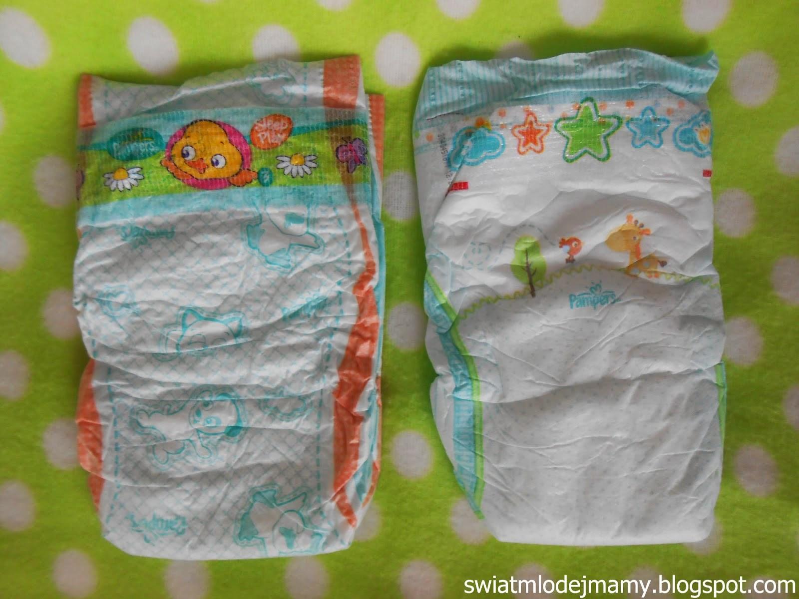 Porównanie Pampers 3: Active Baby vs. Sleep&Play