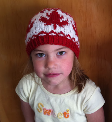 Free Crochet Hat Patterns Nz : KNITTING PATTERN FOR CANADA FLAG HAT ? KNITTING PATTERN