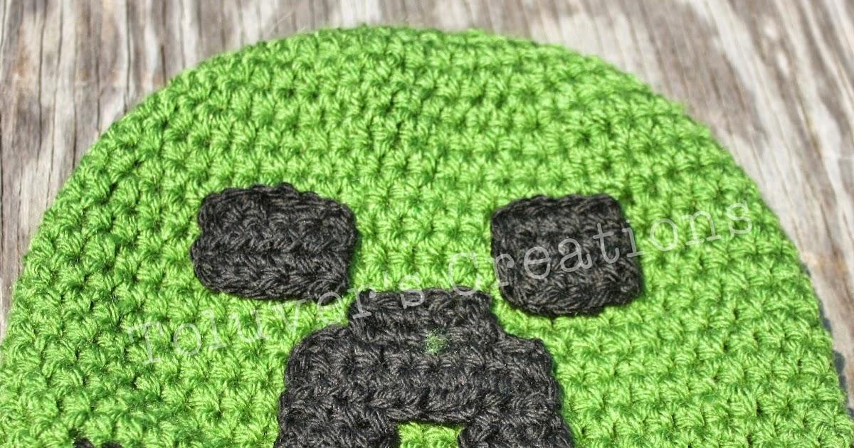 Toluvers Creations Minecraft Creeper Hat Free Pattern