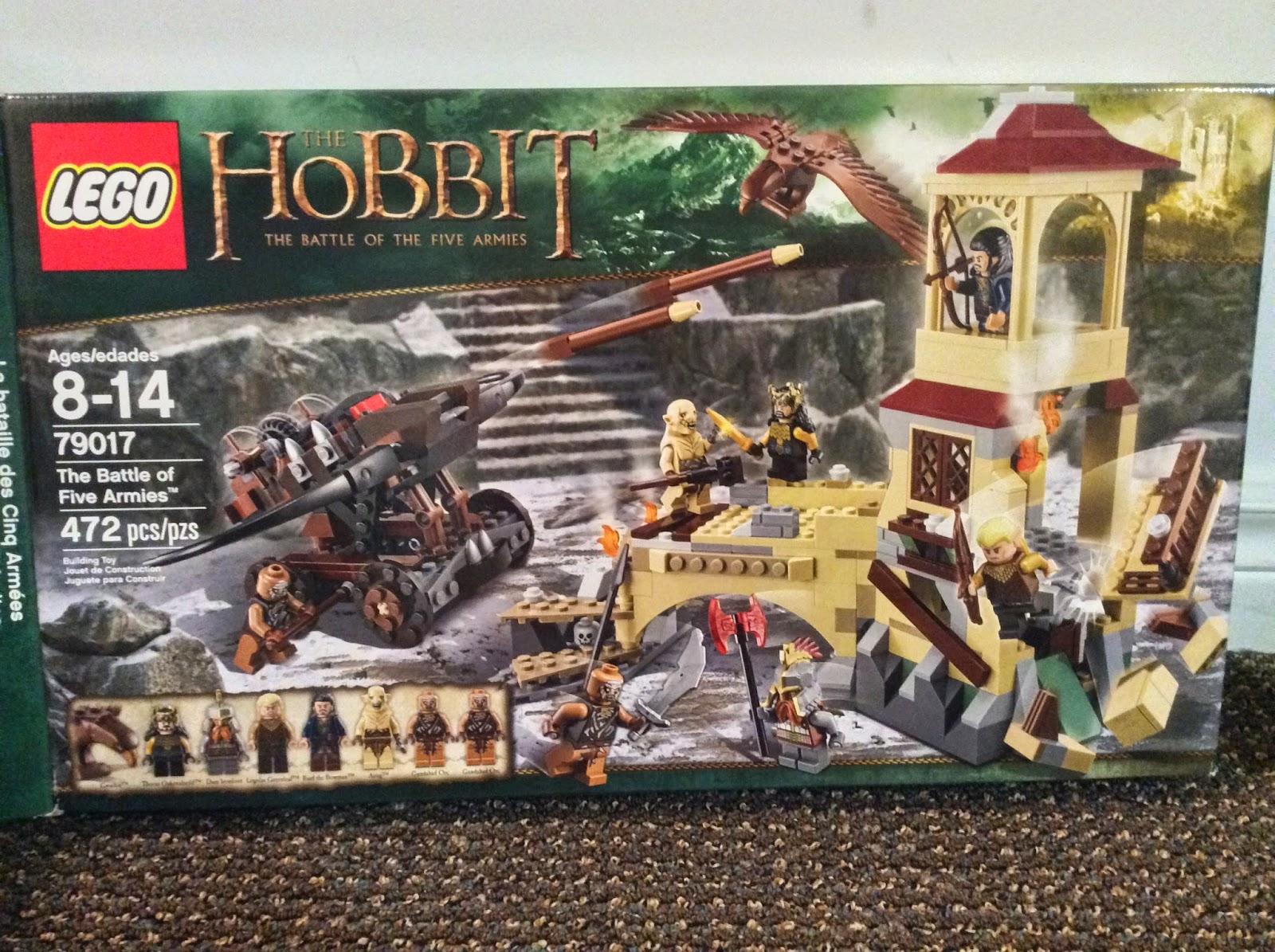 Battle of Five Armies Hobbit LEGO Sets