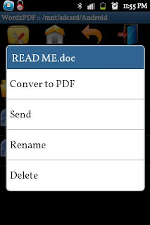 Word to PDF Converter apk
