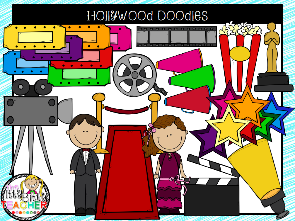https://www.teacherspayteachers.com/Product/Clipart-Hollywood-Doodles-1813017