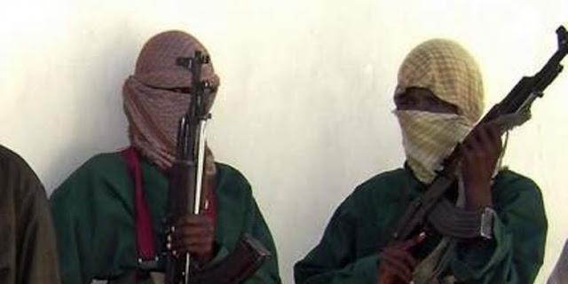 Anggota kelompok militan Al-Shabab