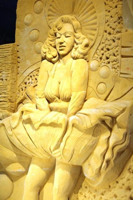 Sandwonderland Blankenberge Marilyn Monroe