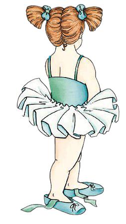 Bailarinas para imprimir