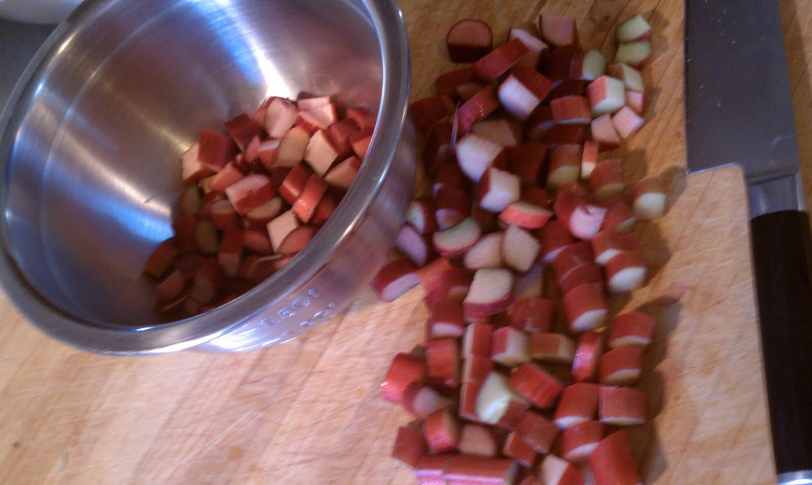 Shrimp13's Blog: Rhubarb Braised Chicken Thighs