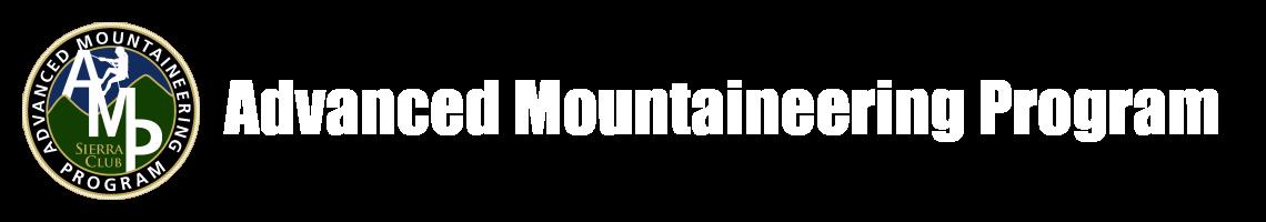 Sierra Club Advanced Mountaineering Program