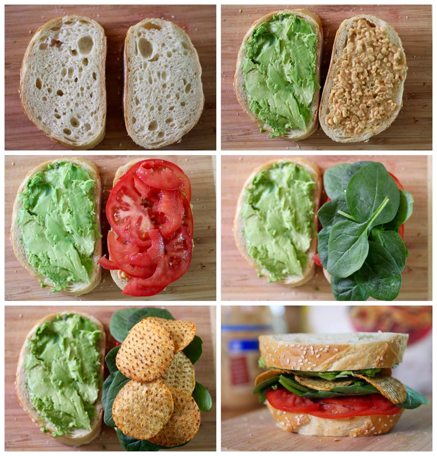 Green Gourmet Giraffe: Sandwiches, CLT and an Avocado glut