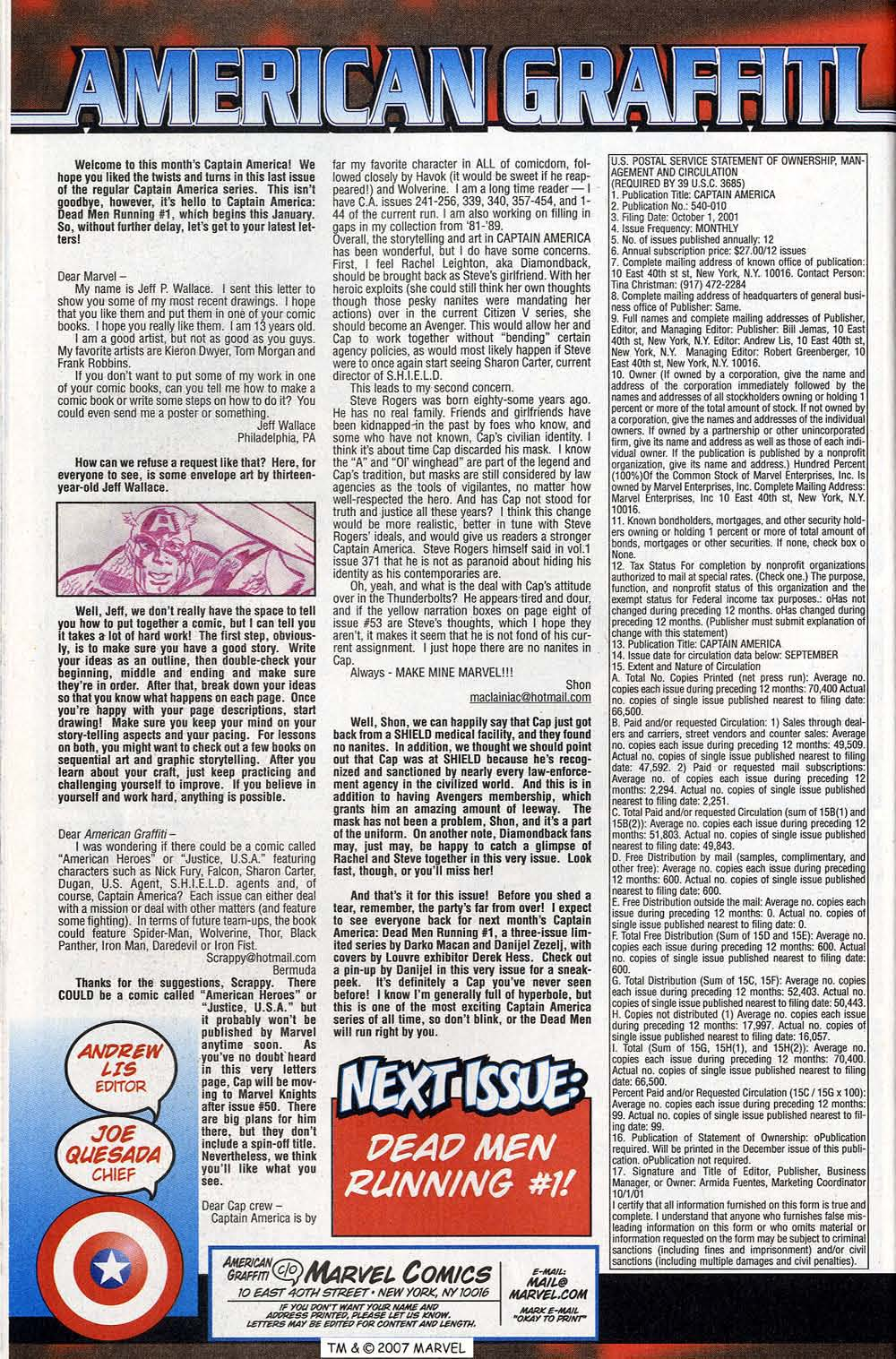 Captain America (1998) Issue #50 #57 - English 62