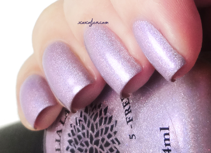 xoxoJen's swatch of Black Dahlia Mountain Laurel