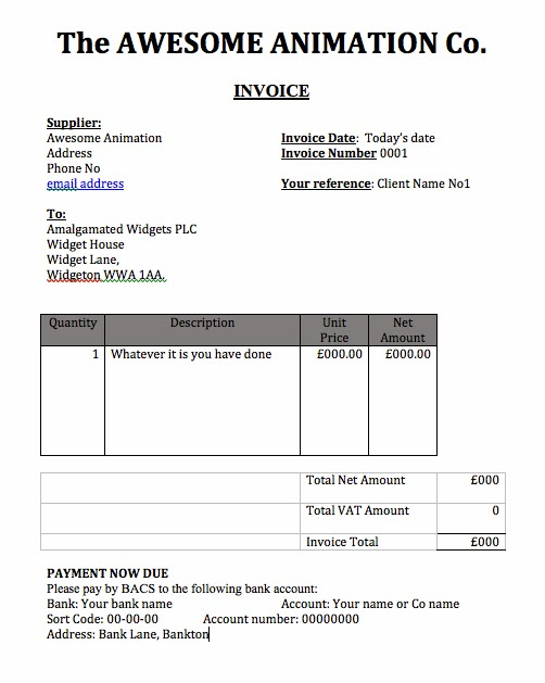 Proatmealus  Unusual Bucks Animation Blog What Does An Invoice Look Like With Lovely Below Is A Sample Invoice Based On The Ones That I Typically Send Out For Freelance Work Adjust It To Suit You Own Preferences Copy The Format And Make  With Cute Free Invoice Templates For Word Also Invoice Templetes In Addition How Do I Send An Invoice On Paypal And Formal Invoice As Well As Photographer Invoice Template Additionally Quest Diagnostics Invoice From Bucksanimationblogspotcom With Proatmealus  Lovely Bucks Animation Blog What Does An Invoice Look Like With Cute Below Is A Sample Invoice Based On The Ones That I Typically Send Out For Freelance Work Adjust It To Suit You Own Preferences Copy The Format And Make  And Unusual Free Invoice Templates For Word Also Invoice Templetes In Addition How Do I Send An Invoice On Paypal From Bucksanimationblogspotcom