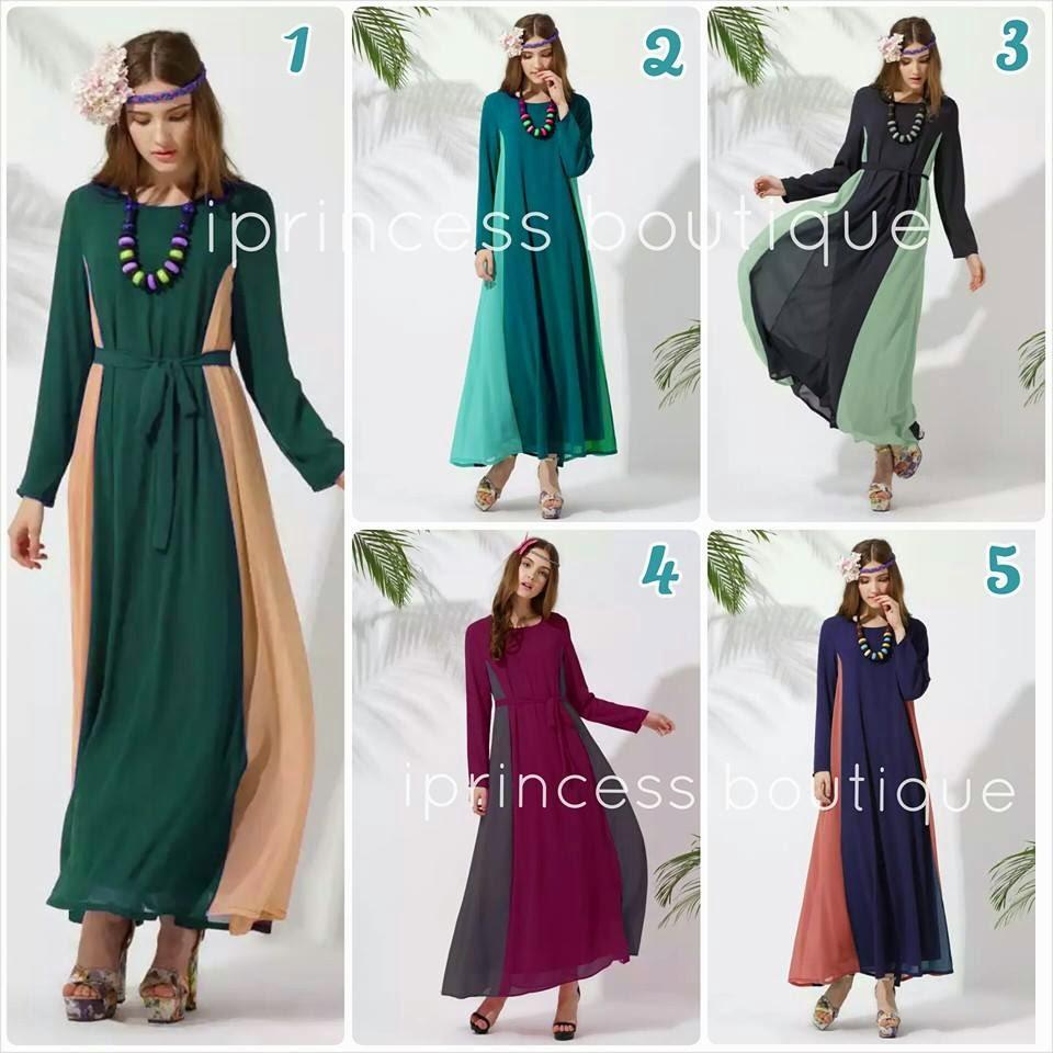 dress muslimah murah