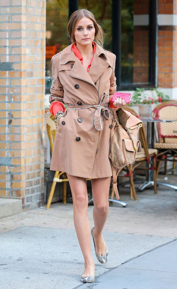 Olivia Palermo - Trench coat - comprar abrigos por internet - magnoliamoda.com - pamelavictoria.cl