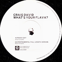 Craig David – What\'s Your Flava (Promo VLS) (2002)