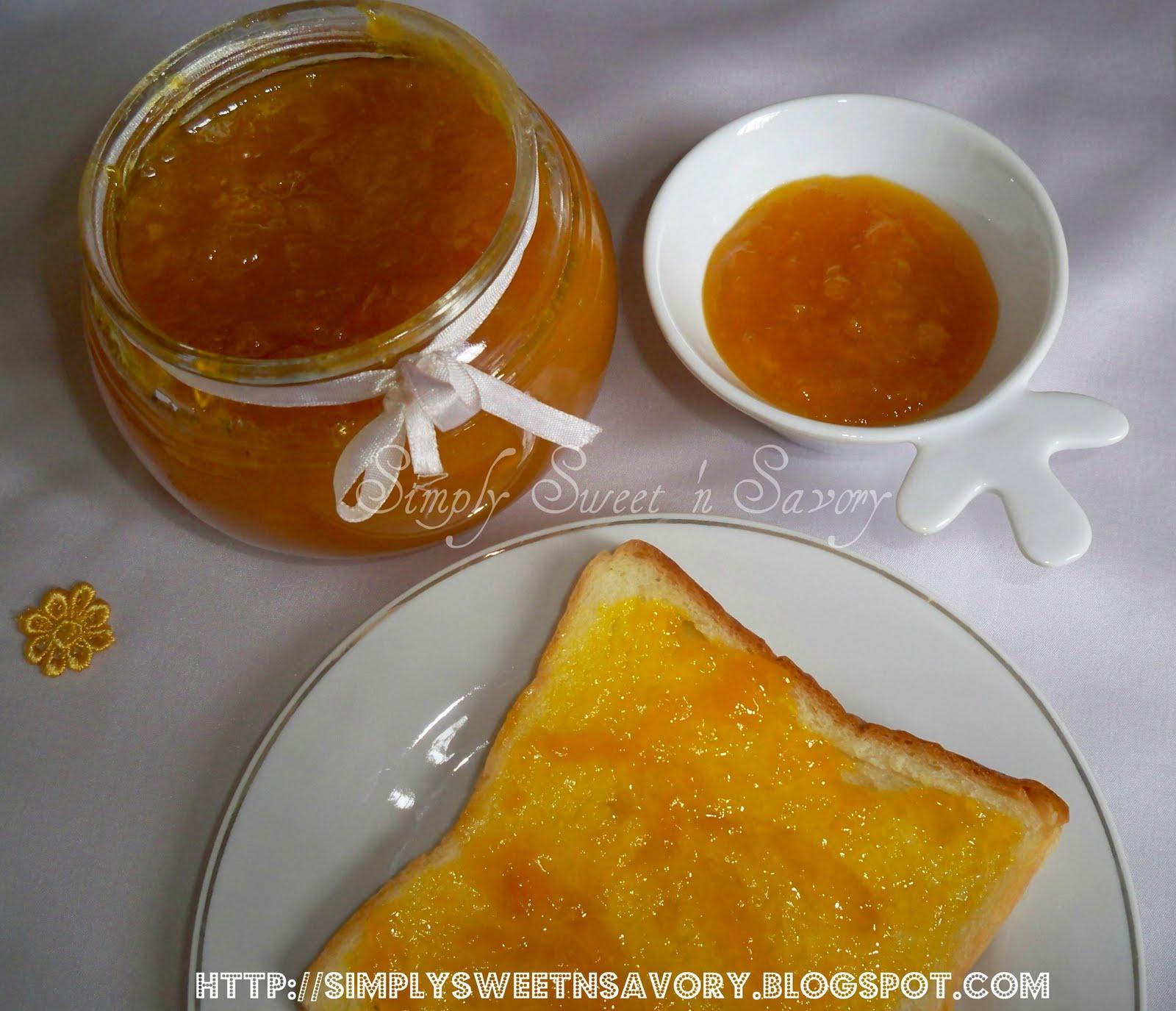 Simply Sweet 'n Savory: Mango Jam & A New Look