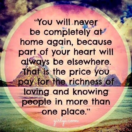 Always far. Always home.