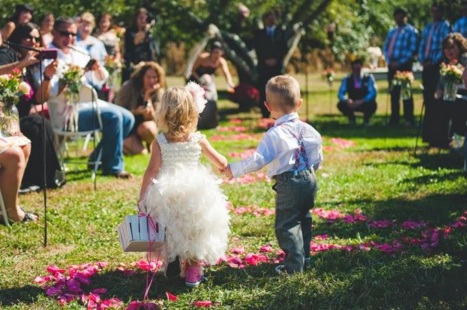 Rustic Fall Orchard Wedding