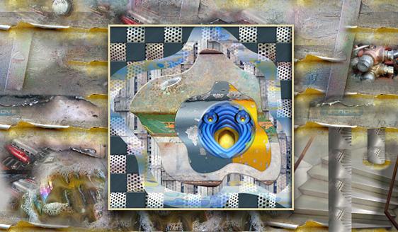 """El Grito del Rivismo. Dolor y Sufrimiento en los Materiales. Obra de Ramón Rivas """"El Grito del Huevo"""""""