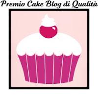 Premio Cake blog di Qualità