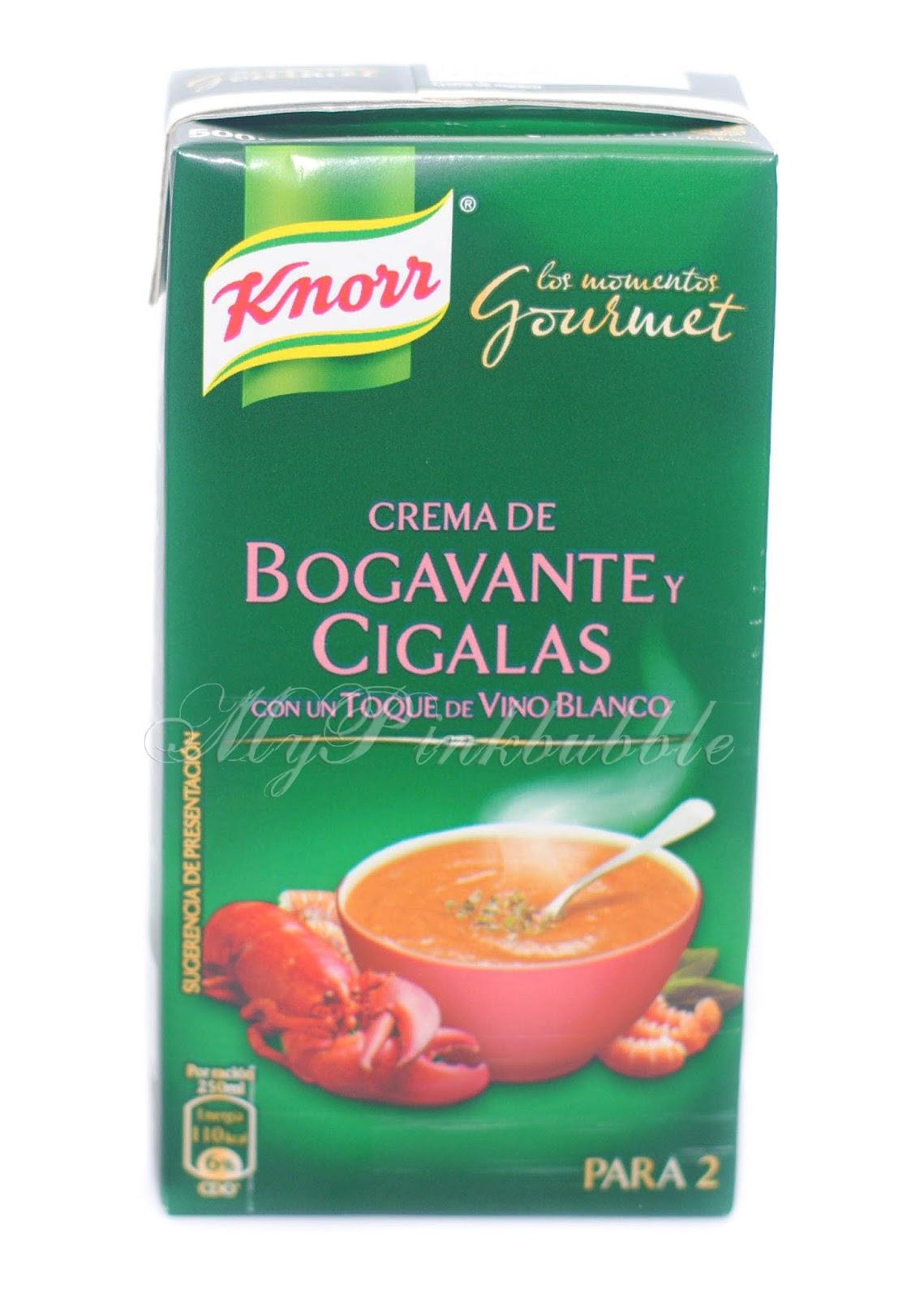 Knorr Crema de Bogavante y Cigalas