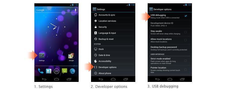 USB Debugging Mode in Android 4.0