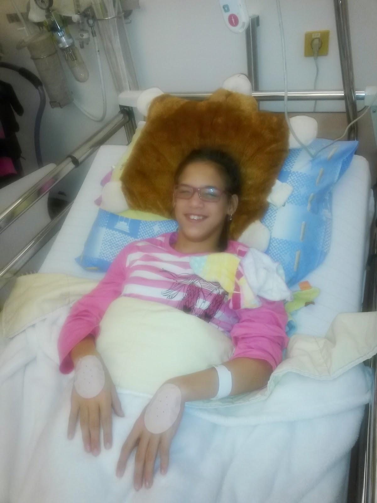 Sharon krijgt baclofenpomp: januari 2015
