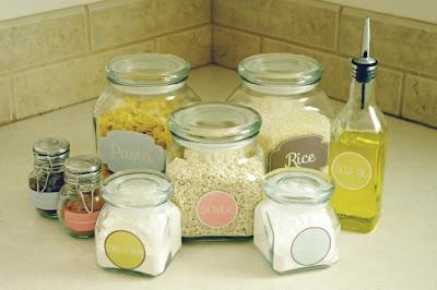 etiquetas rotulos para organizar mantimentos cozinha gratis para imprimir